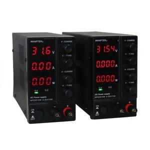 Image 1 - NPS 3010W 306W 605W 1203W Mini Switching Regulated Adjustable DC Power Supply Power Display 30V 60V 120V 6A 10A 0.1V 0.01A 0.01W
