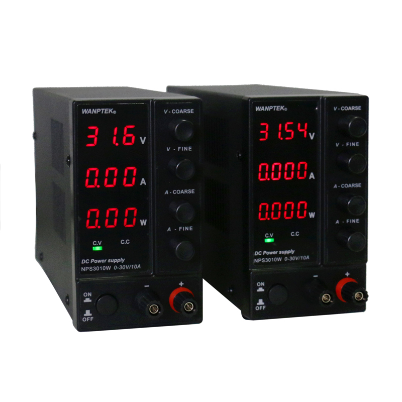 Image 3 - NPS306W/605W/3010W/1203W Mini Switching Regulated Adjustable DC Power Supply power display 30V/60V/120V 6A/10A 0.1V/0.01A/0.01W-in Switching Power Supply from Home Improvement