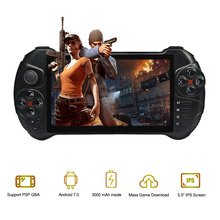العاب X15 لعبة فيديو وحدة التحكم يده أندرويد لعبة لاعب ألعاب ريترو 5.5 بوصة 1280*720 شاشة تعمل باللمس رباعية النواة 2G RAM دعم PSP GBA