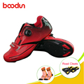 Boodun  обувь для велоспорта  шоссейного велосипеда  мужские спортивные кроссовки для взрослых  профессиональные  спортивные  дышащие  sapatas para ...