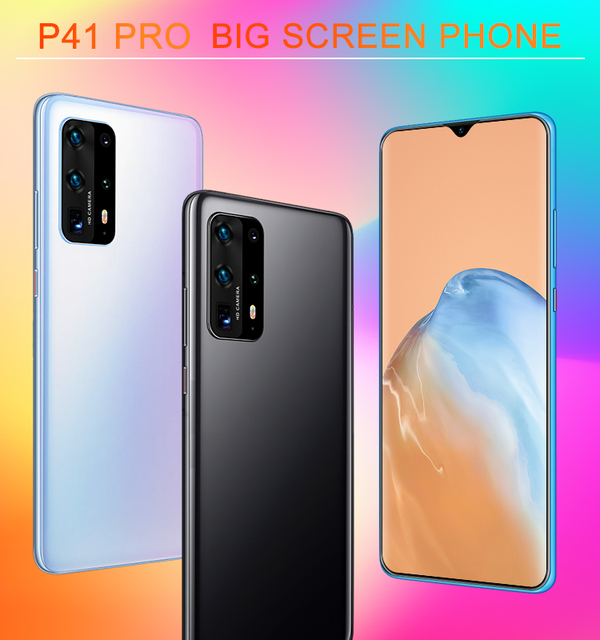 Global Version SOYES P41 Pro Smartphone Deca Core Android 10.0 3000mAh Cellphone 2GB+16GB 6.7inch Waterdrop Screen Mobile Phone 2