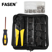 HS 03BC 8JAW 270PCS Crimping pliers for plug/tube/insulation/no insulation/crimping cap/coaxial cable terminals multitool plier|Pliers| |  -