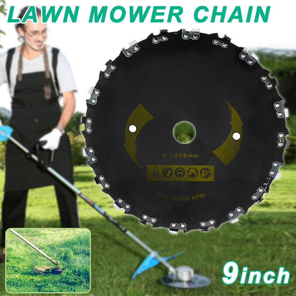 9 zoll Stahl Gras Trimmer Kopf Mähen Rasenmäher Teile 20 Zahn Disc Klinge Gras Unkraut Brushcutter für Rasenmäher Kopf lieferant|Rasentrimmer|   - AliExpress