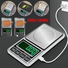 Портативные карманные электронные весы 500 г 1000 ювелирные