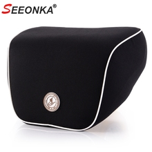 Pillow Head-Support Memory-Foam for Cars Relief Neck-Pain Black Fit Cervical-Curve Trip