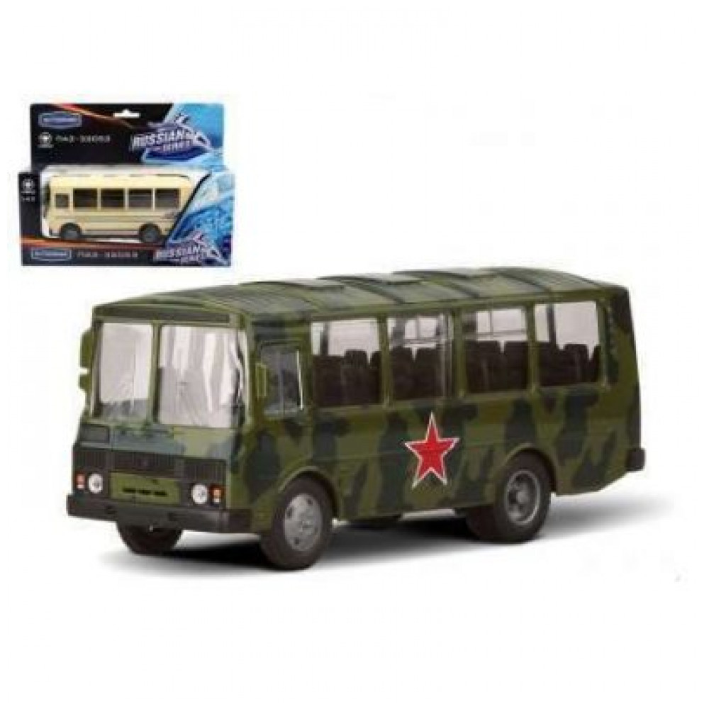 Машина ПАЗ 32053 масштаб 1:43 Autotime|Игрушечный транспорт|   | АлиЭкспресс