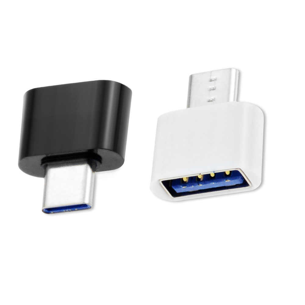 1 Pcs USB 3.0 Tipe-C OTG Adaptor Kabel Tipe C USB-C OTG Konverter untuk Universal Komputer Tablet U disk Konektor