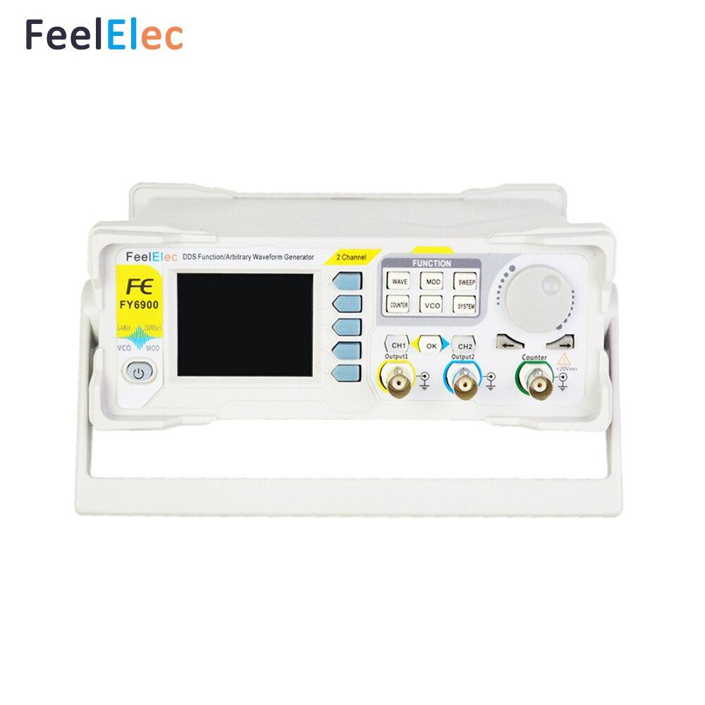 Feeltech FY6900-60M DDS Генератор импульсных сигналов произвольной формы с высоким качеством генератор сигналов синтезатор