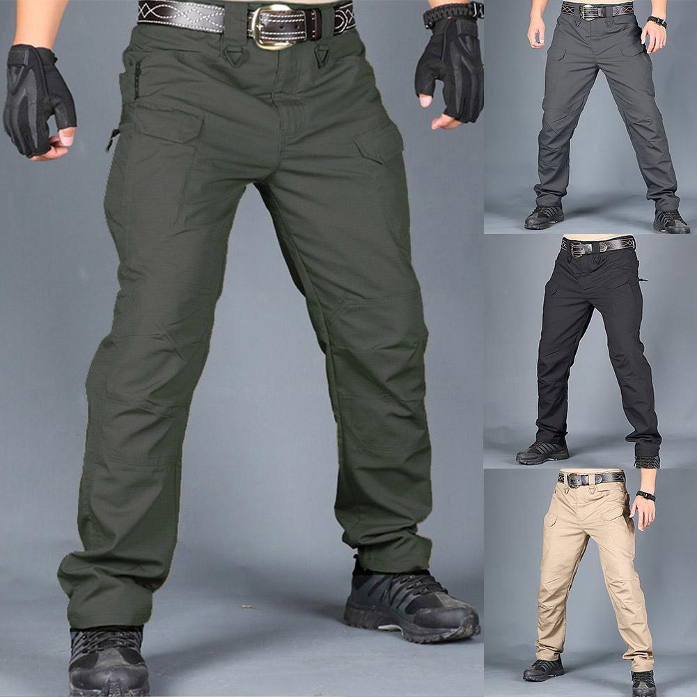 2020 Tactical Pants Men Summer Casual Army Military Style Trousers Mens Cargo Pants Male Zip Trousers Quick Dry Trousers