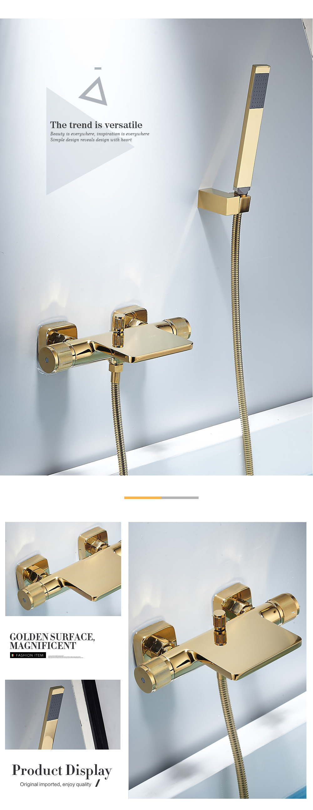 H1133a2503bfe43d3b6ffd56044e4430c5 Bathtub Shower Faucet Mixer Solid Brass Black Wall Mount Shower Faucet With Hand Shower Bathroom Waterfall Bathub Faucet WB1620