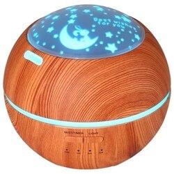 Ue wtyczka zapachowy nawilżacz powietrza dyfuzor noc światła ultradźwiękowy nawilżacz powietrza ziarna drewna w Nawilżacze powietrza od AGD na