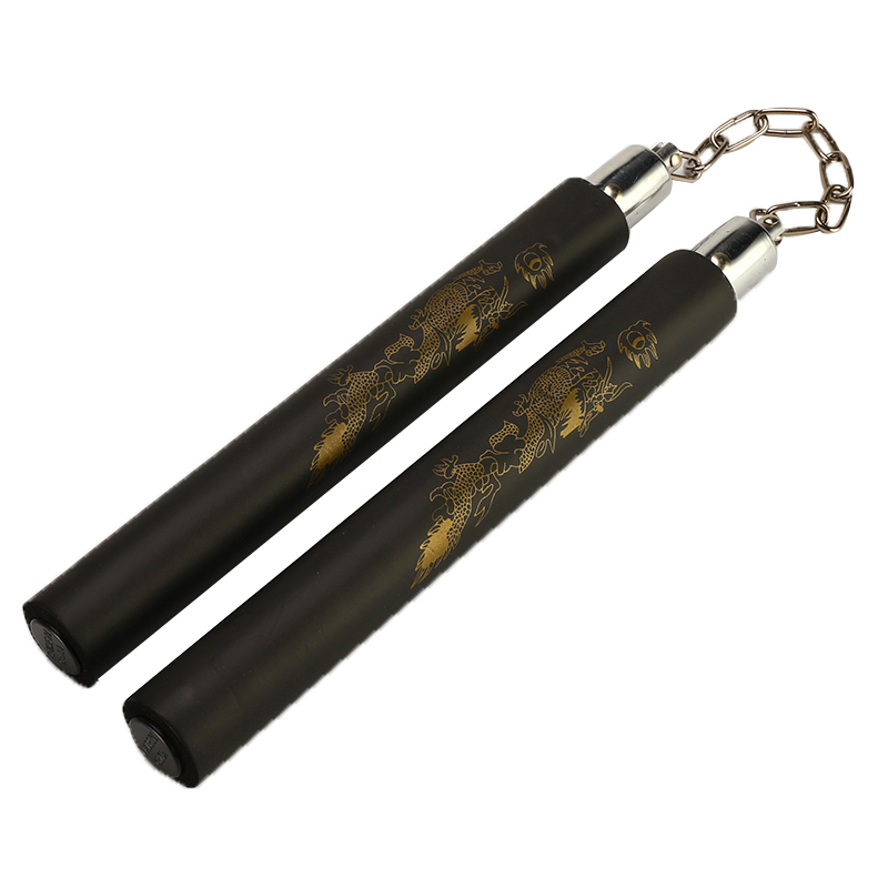 Classical Martial Arts Training Practice Foam Pad Nunchakus For Practice Rubber For Kids Adult Kung Fu Wushu Training Equipment