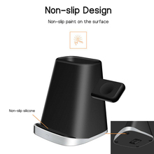 3 in 1 Wireless Charger Multifunctional Fast Charging Dock Stand for Mobile OUJ99
