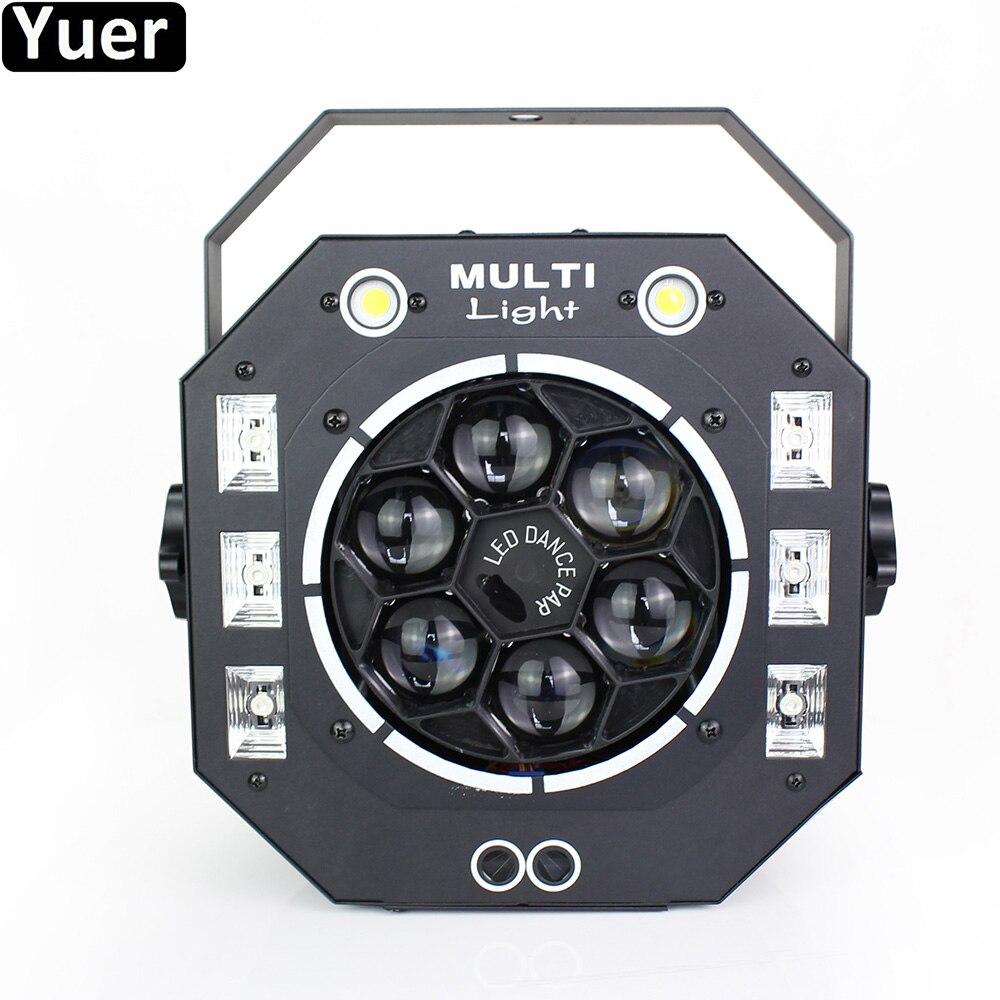 New Multifunction Stage Lighting Effect Strobe Beam Wash Laser 4IN1 DMX512 DJ Equipment Disco Light Home Party KTV Club Lights