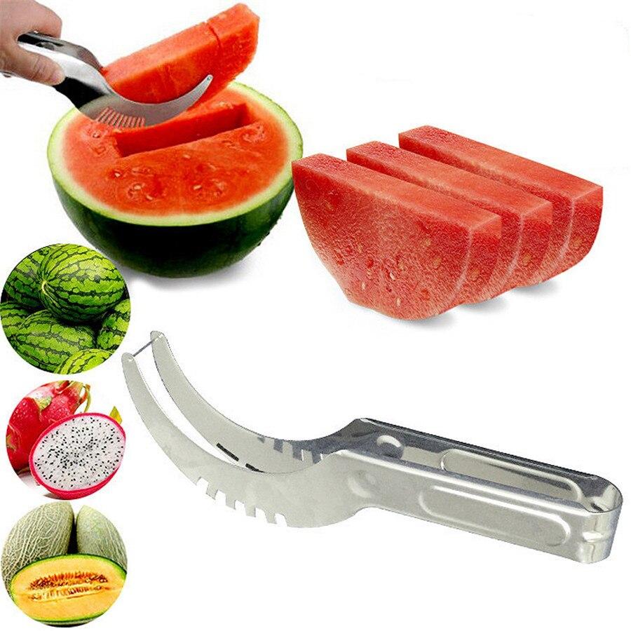 Cut Watermelon Useful Product Stainless Steel Creative Splitter Cut Fruit Tool Household Fruit Knife Fruits Slicer
