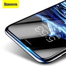 Baseus 3D Kính Cường Lực Cho iPhone 8 7 6 6S 6S Plus Tấm Bảo Vệ Màn Hình 0.23Mm Viền Mềm Thú Cưng Full bao Da Thoughened Cho IPhone8