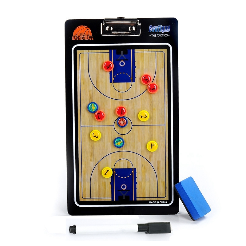 Basketball Zipper Board Referee Professional Basketball Teaching Board