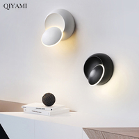 5W LED Wall Lamps 350 degree rotation Bedroom Beside Reading Wall Lights Indoor Living Room Lighting Decoration|LED Indoor Wall Lamps| |  -