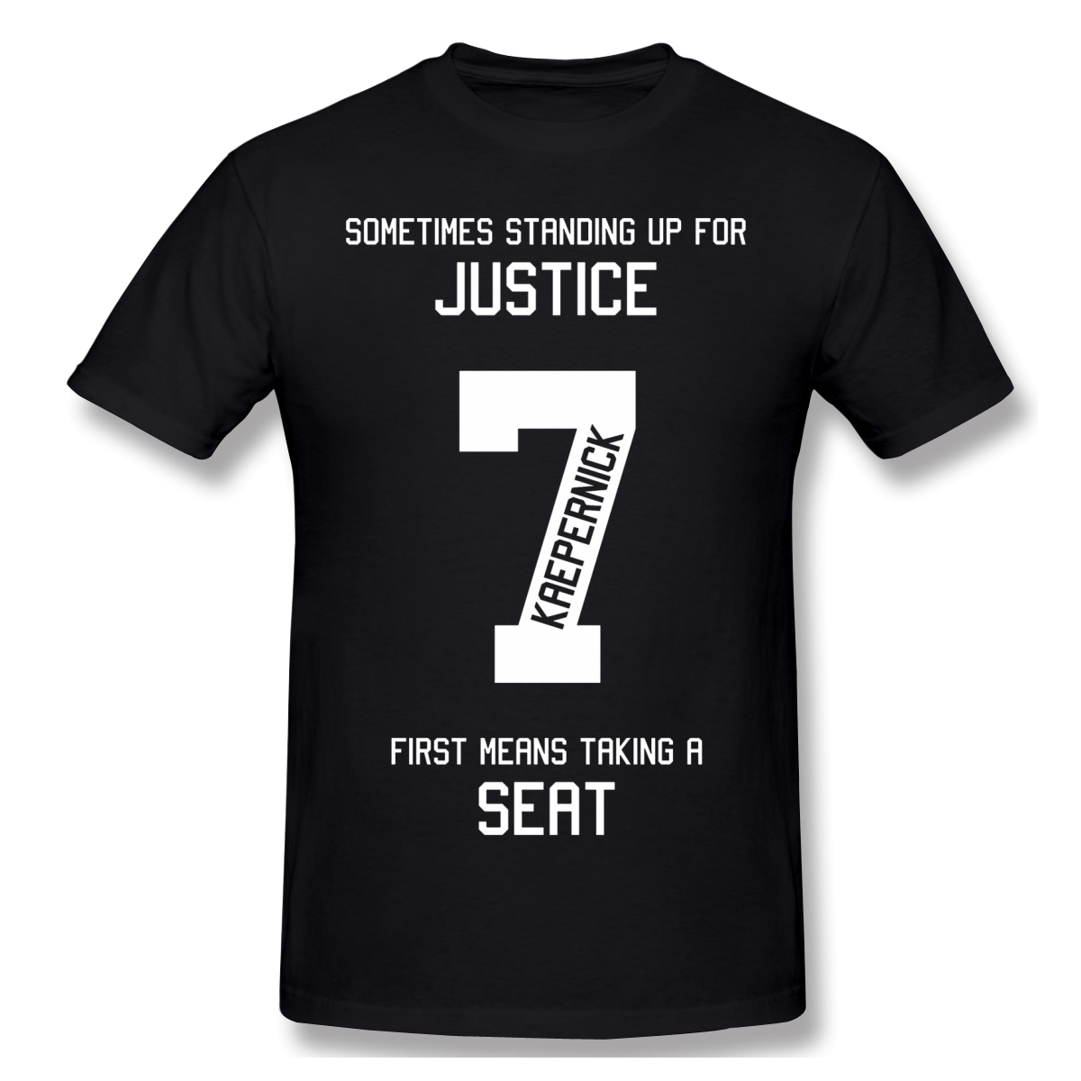 Taking A <font><b>Seat</b></font> For Justice black <font><b>T</b></font> <font><b>Shirt</b></font> black lives matter anonymous George Floyd Short Sleeve image