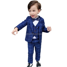 2020 Boys Formal Wedding Party Suits Sets Children Blazer Ve