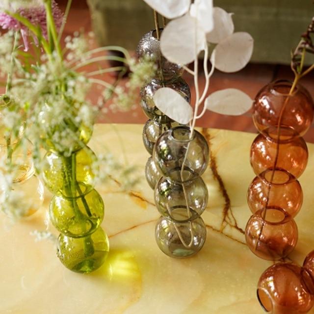 INS Crystal ball bubble Glass Vase Flower arrangement hydroponics ball glass art flower ware Home Decor 2