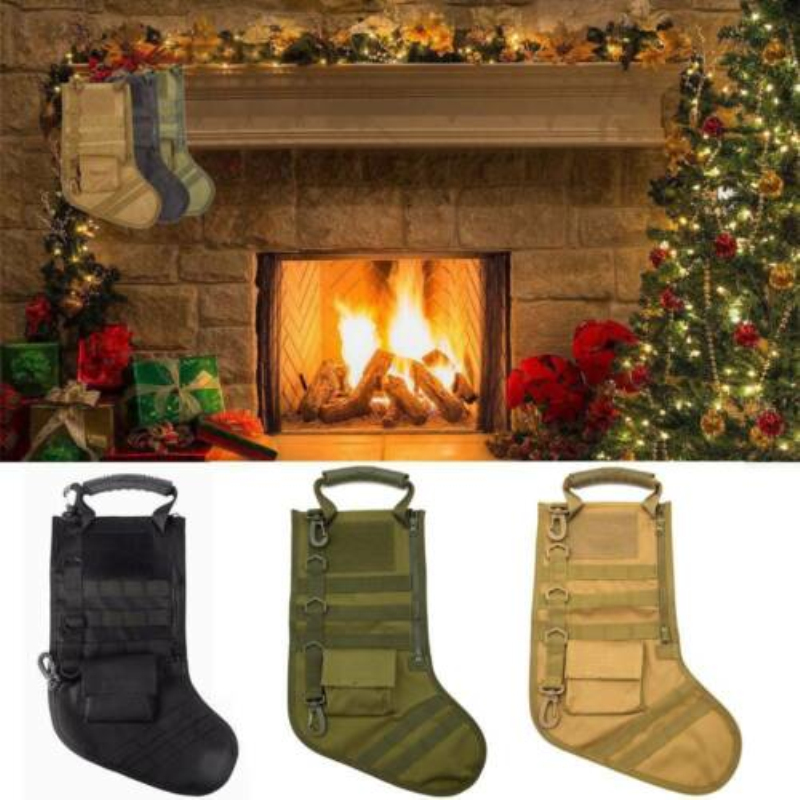 New Hanging Tactical Molle Christmas Stocking Bag Dump Drop Pouch Utility Storage Bag Military Combat Hunting Magazine Pouches