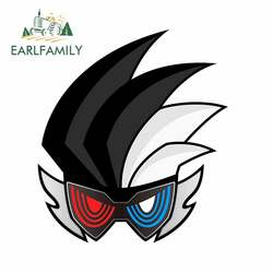 EARLFAMILY 13cm x 11.6cm for Kamen Rider Z Symbol Car Decal DIY Occlusion Scratch Body for Car Personality Creative Stickers