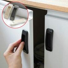 Дверная ручка 2 шт./лот паста открытые ручки для раздвижных дверей для внутренних дверцы окно ручка для шкафа самоклеющаяся ручка