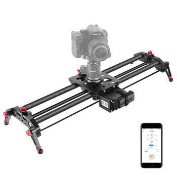 Слайдер Neewer для камеры, моторизированный, 31,5 дюйма, управление через приложение, рельсовая направляющая из углеродного волокна с бесшумным ...