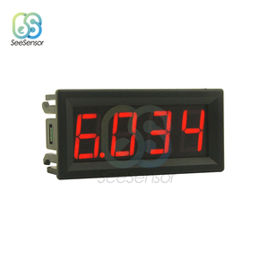 "0-10A 0.56"" 4 Bit LED Digital Ammeter Current Panel Meter Gauge Current Instrument Tool Red Green Blue Display 0.56 inch(China)"