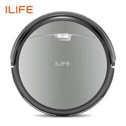 Ilife A4s Robot Stofzuiger Krachtige Zuigkracht Voor Dunne Tapijt & Harde Vloer Grote Vuilnisbak Miniroom Functie Automatisch Opladen