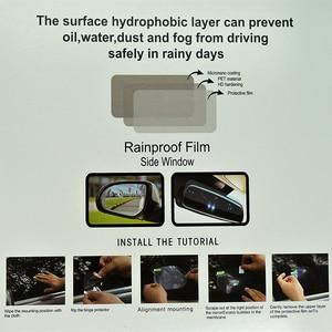 Image 5 - 2Pcs Car Rear Mirror Protective Film Anti Fog Window Clear Rainproof Rear View Mirror Protective Soft Film Auto Accessories