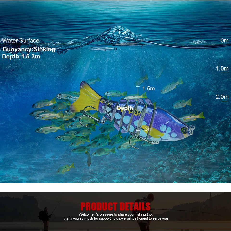 Multi Bagian Laut Memancing Umpan 2020 10 Cm 15.6G Umpan Luya Duo Umpan Bionic Crankbait Fishing Tackle Makanan ikan Plastik Eging Umpan