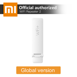 Оригинальный Xiaomi Mi Wi-Fi ретранслятор 2 расширитель 300 Мбит/с усилитель сигнала сети беспроводной маршрутизатор Универсальный Repitidor