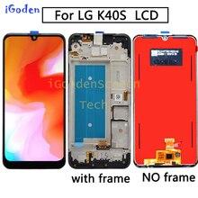 """Pour LG K40S LCD écran tactile numériseur assemblée accessoire de remplacement 6.1 """"100% testé pour LG K40S lcd"""