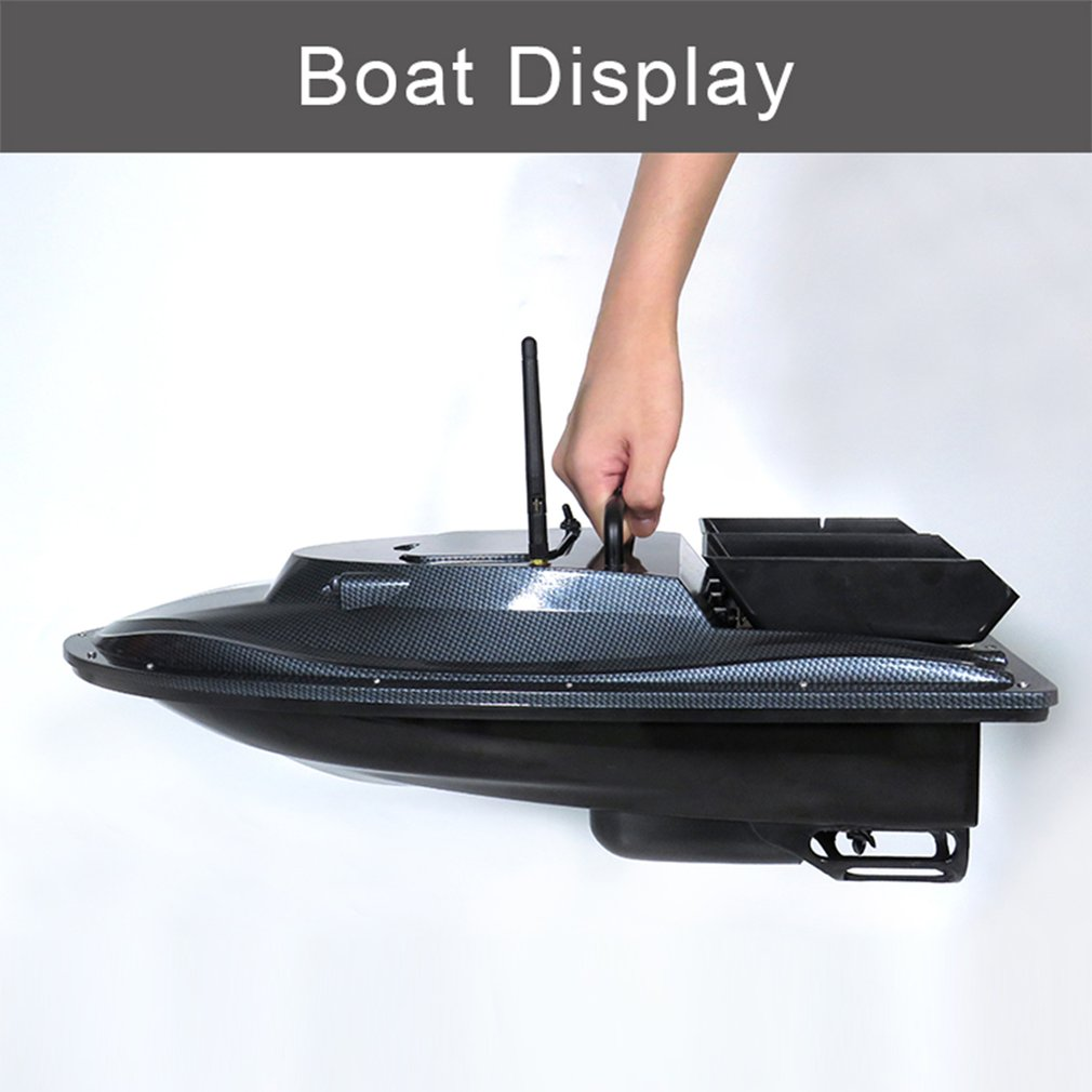 Flytec V007 RC Boats Fishing Nesting Fixed Speed Cruise Yaw Correction Ship Strong Wind Resistance LED Searchlight Outdoor Toys