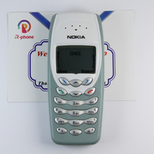 Мобильный телефон NOKIA 3410, Оригинальный разблокированный отремонтированный дешевый телефон