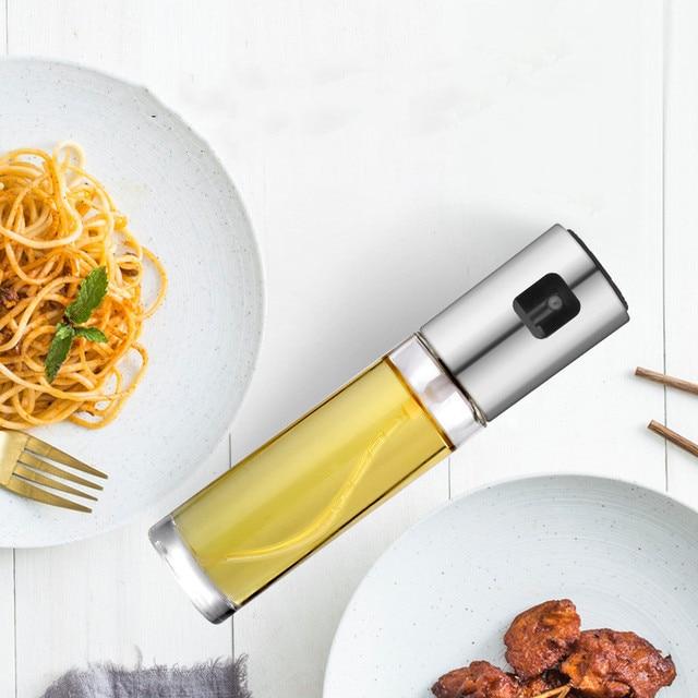 Купить пищевой стеклянный распылитель оливкового масла многоразовый