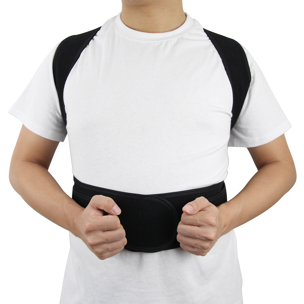 Adjustable and Comfortable Posture Corrector Belt Helps to Correct Wrong Body Posture of Back and Shoulders 14