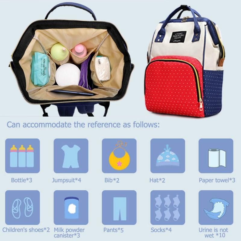 H1136d0ad9024453a84809cb31c1fe4d7u Large Capacity Mummy Diaper Bags Zipper Mother Travel Backpacks Maternity Handbags Pregnant Women Baby Nappy Nursing Diaper Bags