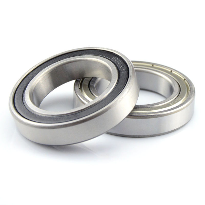50pcs/lot 6001ZZ  6001-2RS S6001ZZ S6001-2RS  12*28*8 Stainless Steel Deep Groove Ball Bearing 6000 12x28x8 Mm