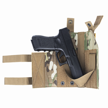 OneTigris Tactical Gun Holster Molle Modular Belt Pistol Holster for Right Handed Shooters Glock 17 19 22 23 31 32 34 35 2