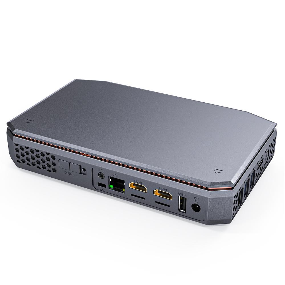 T12 CPU AMD A4-7210 Windows10 Mini Pc DDR3L 8G Emmc 64G Support HDD 1000M Lan BT4.2 Windows 10 Mini Computer
