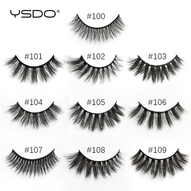YSDO Makeup Eyelashes Wholesale 4/10/20/30/50pcs Mink Lashes Fake lashes Natural False Lashes Mink eyelashes set Eyelashes Bulk 4