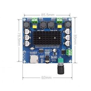 Image 2 - 2*100W Bluetooth 5.0 ses amplifikatörü kurulu TDA7498 güç dijital Stereo alıcı AMP hoparlörler ev sineması Diy