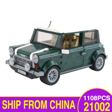21002 Mini Cooper 21001 Volkswagen T1 Camper Compatible with 10242 LegoEDS Technic Model Building Kit Blocks Brick Kids Toys