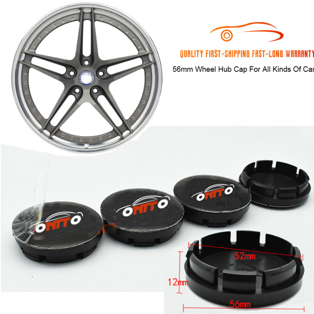 4pcs <font><b>Car</b></font> <font><b>Wheel</b></font> <font><b>Hub</b></font> <font><b>Cap</b></font> 56mm 2.2