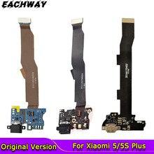 Для Mi5 MI 5S Plus 5X гибкий кабель для зарядки Запасные части USB док-станция зарядное устройство гибкий кабель для Xiaomi Mi5 Mi5S Plus