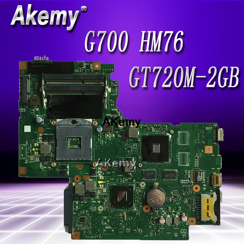 G700 For Lenovo G700 Laptop Motherboard BAMBI Mainboard With Gt720 GPU HM76 11SN0B5M11 11S90003042 Original Mainboard