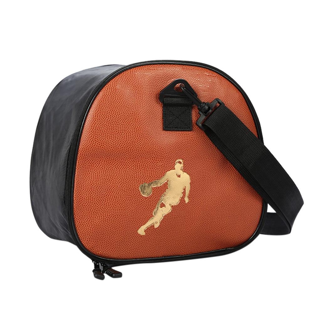 Портативная баскетбольная сумка, Высококачественная сумка для хранения баскетбола из ПУ, спортивная сумка для фитнеса, сумка для хранения ключей, водное стекло и обувь k2-5